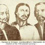 Horea Closca si Crisan la 1784