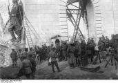 Noiembrie 1916. Trupele bulgare au cucerit podul de la Cernavoda