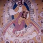 Ispasul pictura Arsenie Boca detaliu