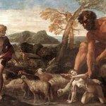 Pictura uriasii din antichitate
