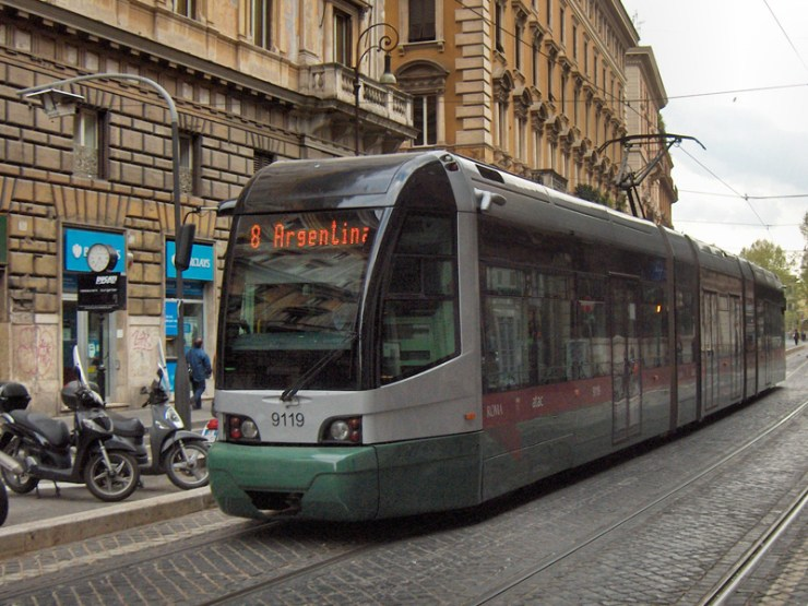 Gradski prevoz Rima - tramvaj