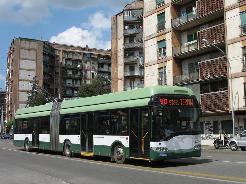 Gradski prevoz Rima - trolejbus