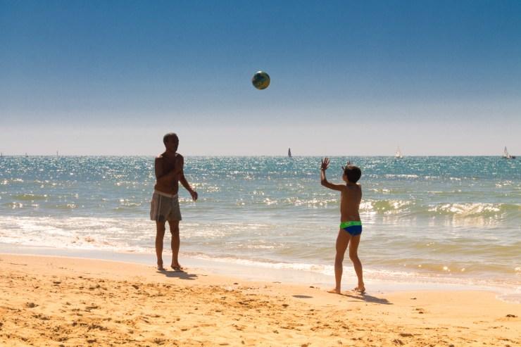 Ostia -plaža Cancelli
