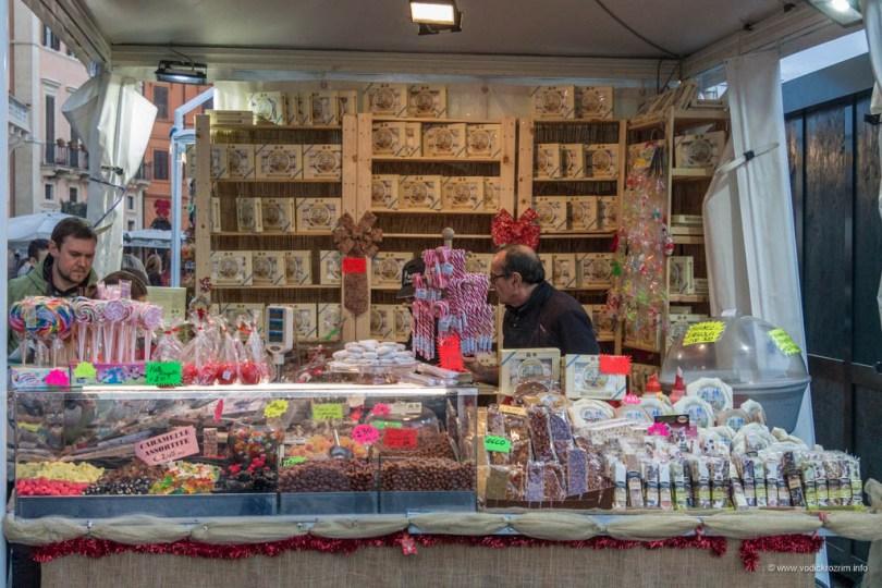 Božićni sajam na Trgu Navona (Mercatino di Piazza Navona)