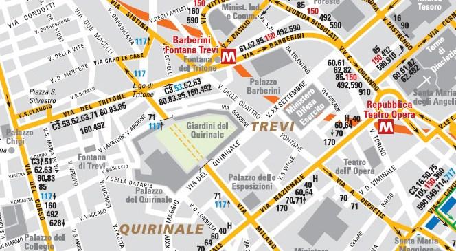 Mapa autobuskih linija
