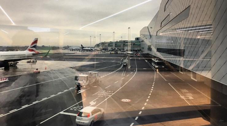 Rimski aerodrom, novi gejtovi: odavde ćete se ubuduće ukrcavati za Beograd (foto: Marco Paska)