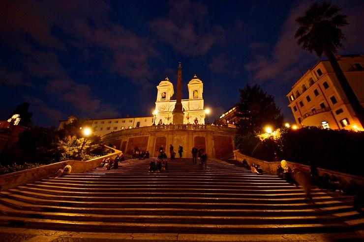 Španski trg noću (foto: Almost Suma/Flickr)