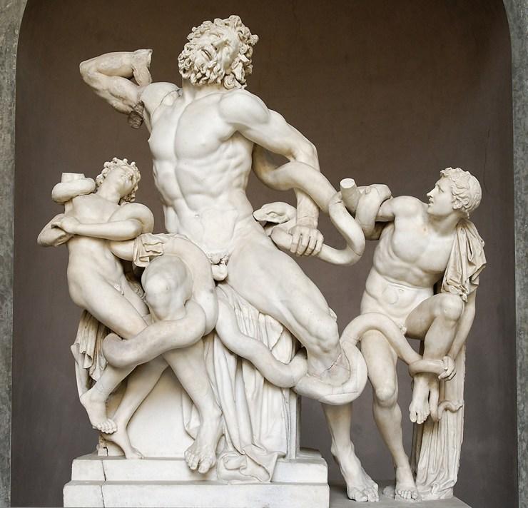 Vatikanski muzej - Lakont sa sinovima