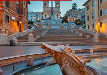Tura fontane i trgovi Rima