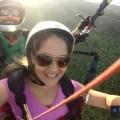 Voo de parapente duplo em Itaguai, na baixada fluminense