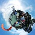 Vista 360 graus da decolagem norte do Parque da Cidade