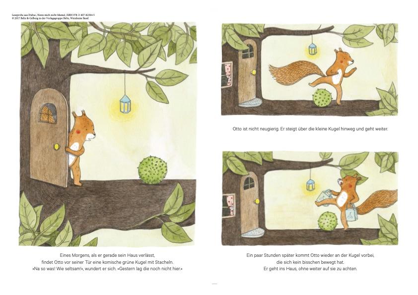 Das Eichhörnchen Otto