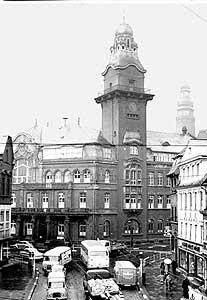 Altes Rathaus um 1960