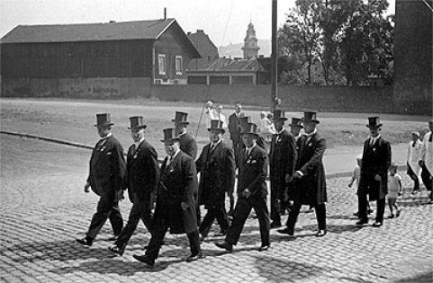 Handwerker-Woche in Völklingen am 18-09-1933 (Foto: v.d.Eltz)