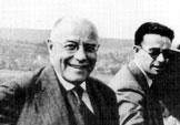 Hermann Röchling und sein einziger Sohn um 1940: Karl Theodor Röchling - Quelle: Die Gründerfamilie Röchling