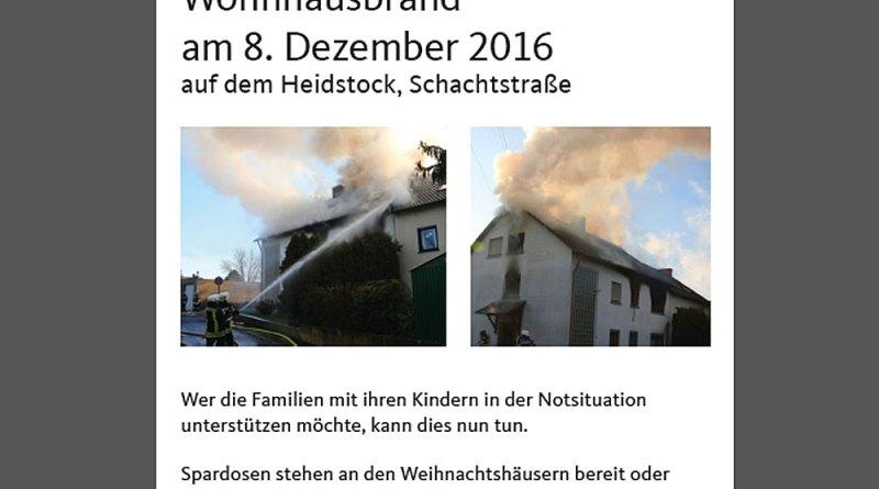 Spendenaufruf der CDU