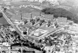 Wehrden 1966 (Bild: Stadt VK)