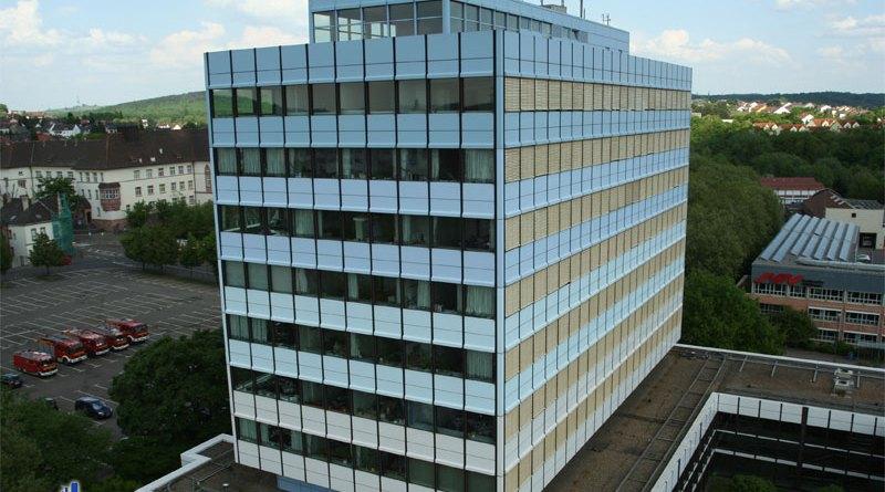 Das neue Rathaus der Stadt Völklingen