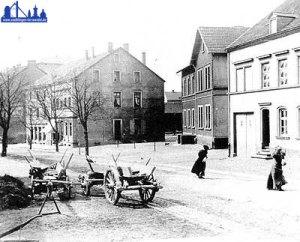 Die Nähschule in der Rathausstraße