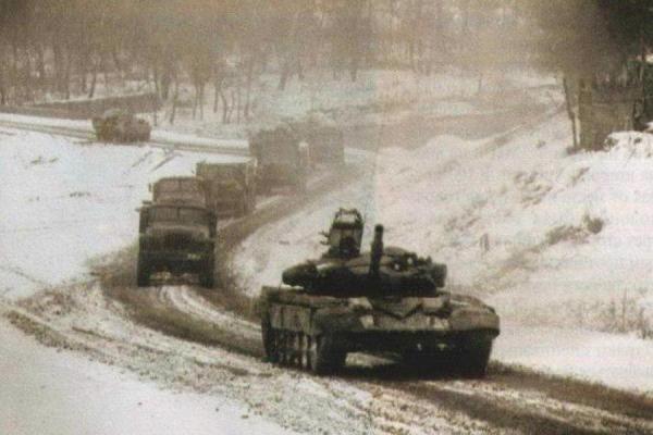 Фотоальбом Чеченской войны - Военкоматы России