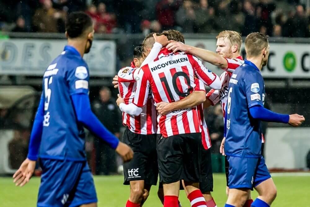 Image result for Sparta Rotterdam 3-1 SC Heerenveen