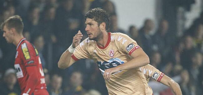 Foto: 'Standard viste achter het net bij sterkhouder KV Kortrijk'