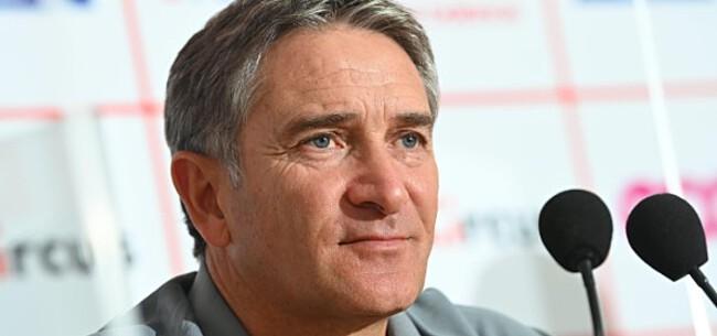 Foto: Montanier heeft slecht nieuws voor bankzitters Standard