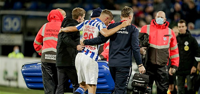Photo: Heerenveen keeps perfect score, worries about Veerman