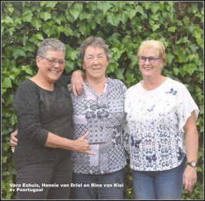 Vera Eshuis, Hennie van Driel en Rina van Klei
