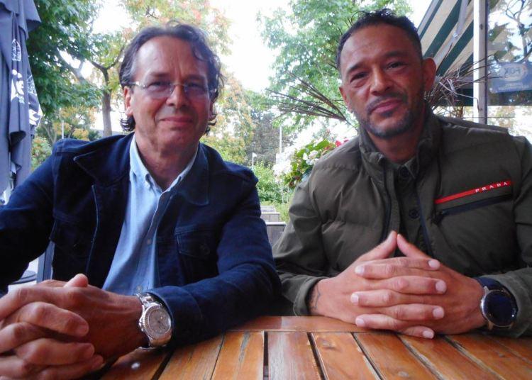 Ben Ruter en Raymond Roos