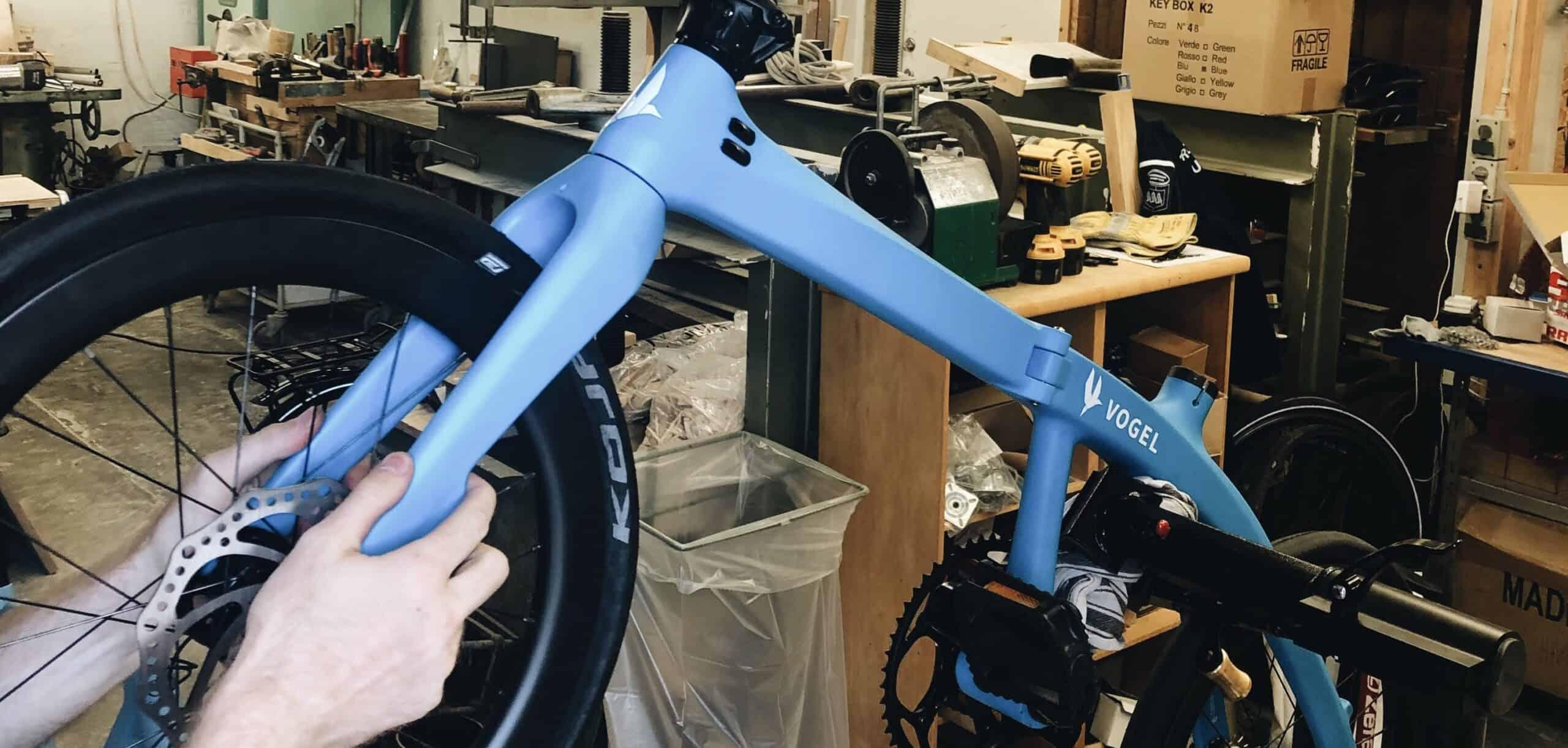 Curie folding bike