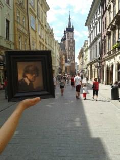 In der Altstadt vor der Marienkirche