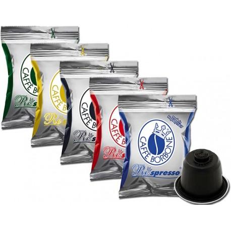 degustazione-capsule-caffe-borbone-respresso-5-x-50-capsule-compatibilita-nespresso