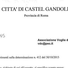 Gestione dell'isola ecologica di Castel Gandolfo