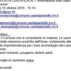 Il sindaco Monachesi risponde in merito al Torrione