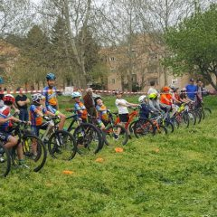 Mountain bike al Parco Ibernesi