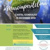 Voglia di Cambiare aderisce alla marcia per il clima del 15 dicembre 2018 a Castel Gandolfo