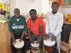 Besong Agbor lud ins Greizer Café OK ein