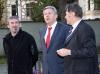 Berlins Regierender Bürgermeister Klaus Wowereit (SPD) referiert im Greizer Bücherwurm