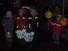 Mit bunten Lampions durch Gommla