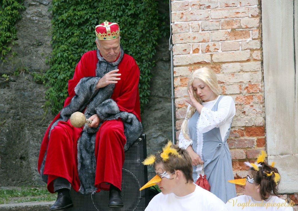 """""""Die Gänsemagd"""" sorgt für Furore auf dem Oberen Schloss"""
