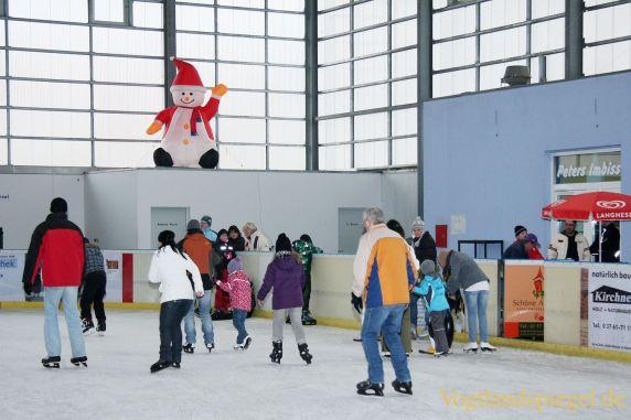 Schnupperstunde der Abteilung Eiskunstlaufen des Hainberger SV