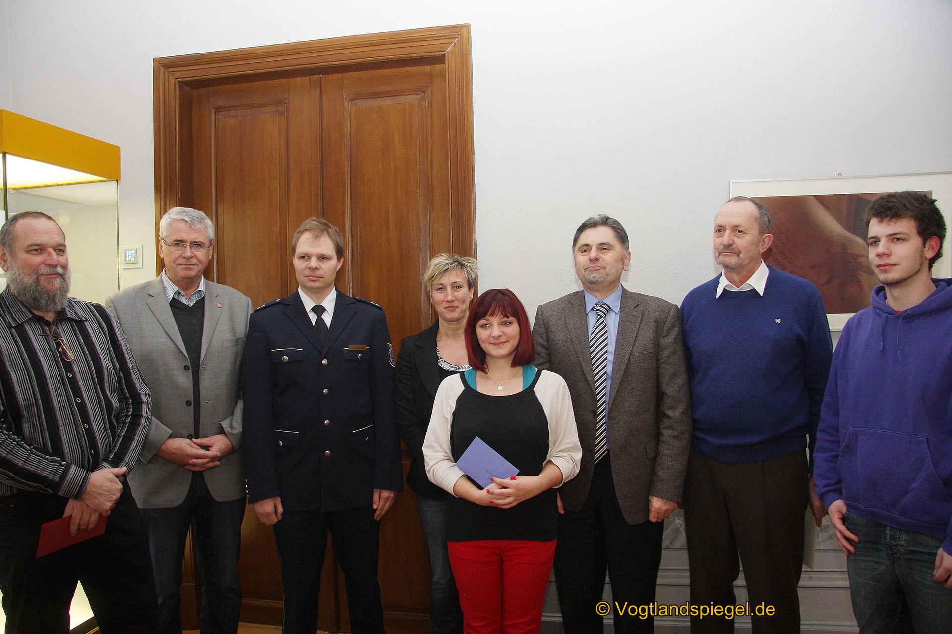 Stadtmarketing Greiz e.V. und Polizeidirektion Gera übergeben 1200 Euro an drei Vereine und ein Projekt