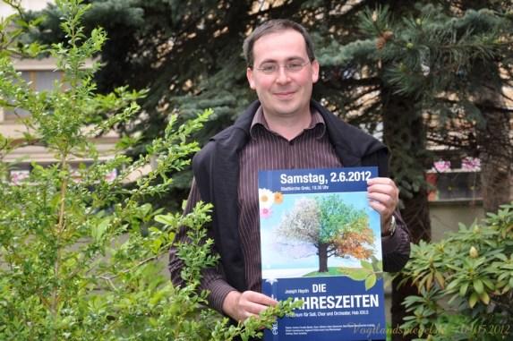 Propsteikantor Oliver Scheffels