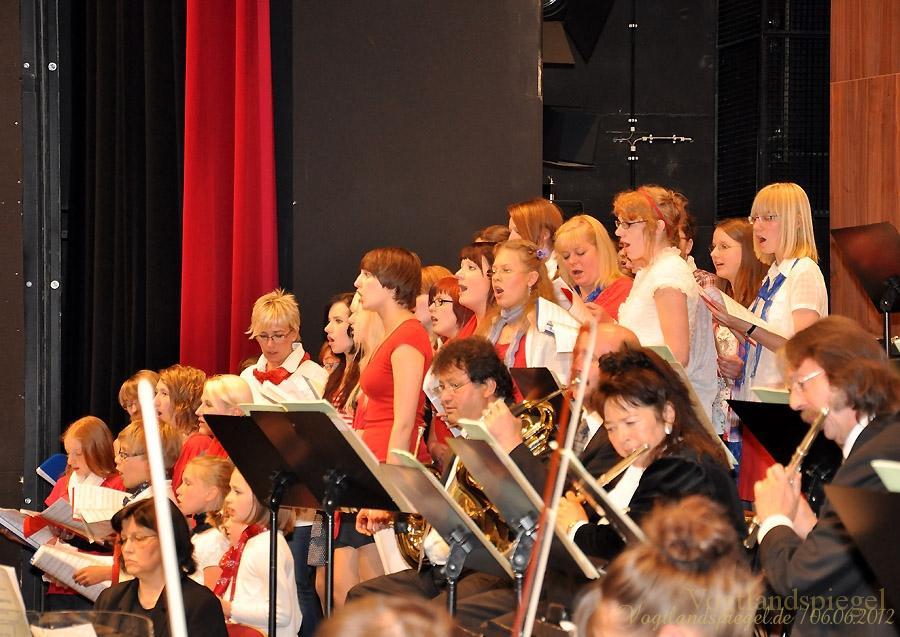 Gemeinschaftskonzert der Vogtland Philharmonie und Musikschule