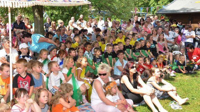 """Sommerfest im Kindergarten """"Juri Gagarin"""" in Greiz"""