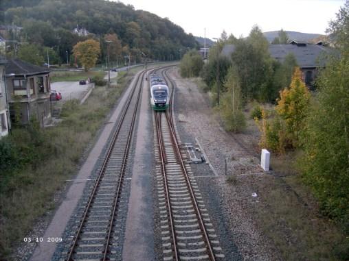 Bahnstecke Greiz-Weischlitz vor dem Aus?