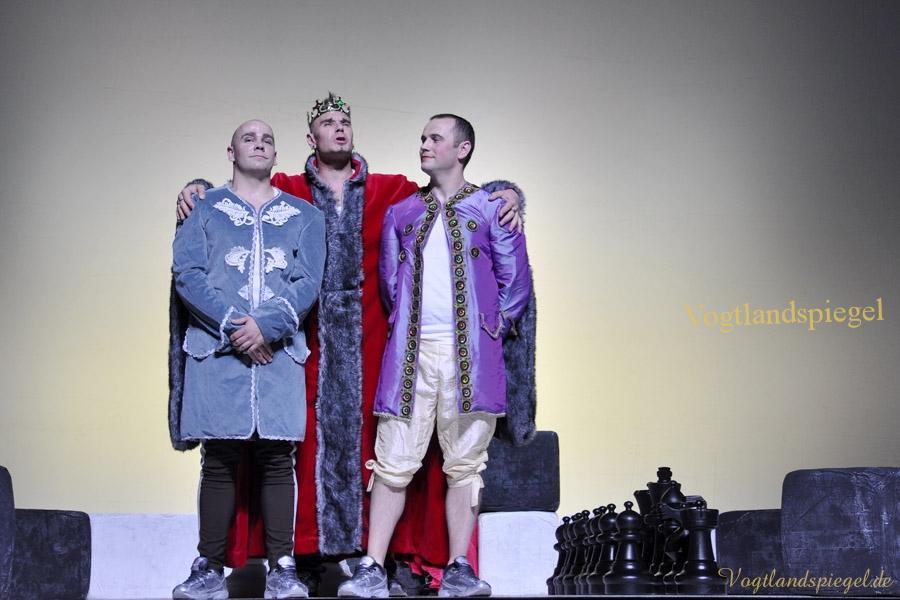 XXI. Theaterherbst   Gastspiel JVA Hohenleuben mit Hamlet