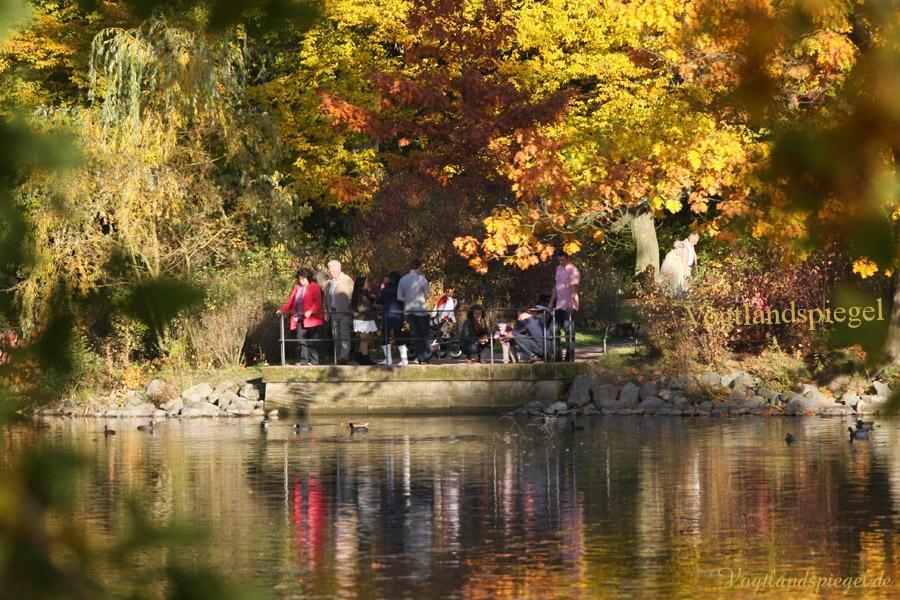 Herbst im Greizer Landschaftspark