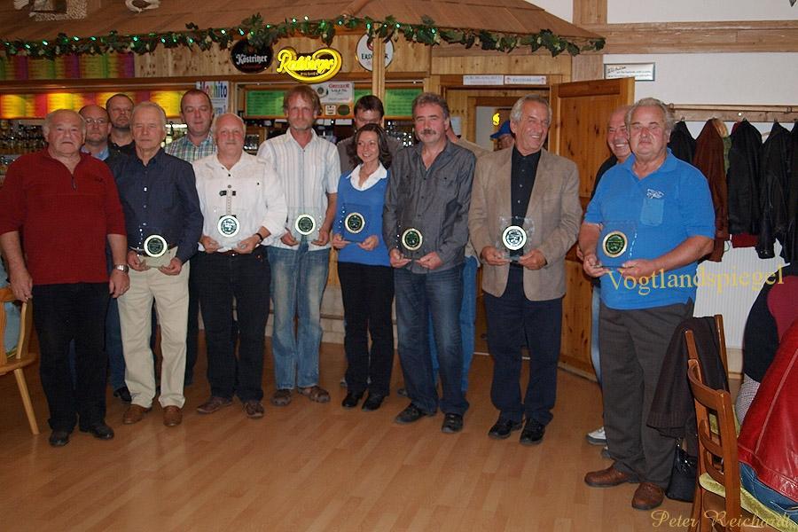 Siegerehrung Ostthüringer Oldtimermeisterschaft 2012
